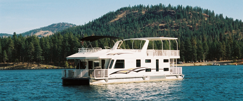 Houseboating in Washington