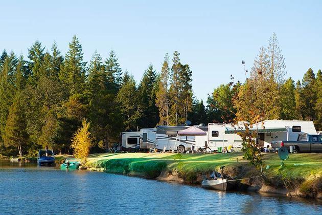 Silver lake silver cove rv resort for Silver lake washington fishing